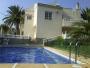 Alquilo chalet independiente con piscina y jardín privados