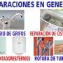 fontaneros valencia -reparaciones e instalaciones -963366020