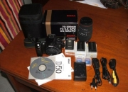 Camara reflex digital nikon d50 con accesorios