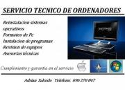 Reparacion y mantenimiento de ordenadores