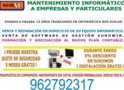 Servicio Tecnico de Informatica en Valencia