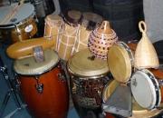 Bongo conga timbal cajon percusion clases