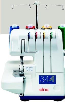 Máquina de coser overlock (remalladora) elna mod. 344