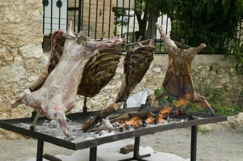 Carne a la brasa en tu fiesta catering