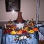 Fuentes de Chocolate, cup cakes y mini tartas