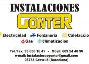 Instalaciones gonter, s.c.p.