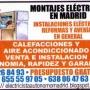 Electricistas madrid (Reformas, Averías, Iluminacion ect..