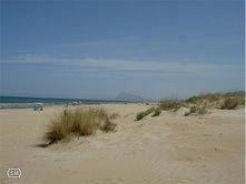 Casa de madera playa de oliva