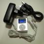 MP3 2GB LCD con clip FM. Cargador. Varios colores
