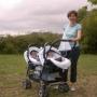 Vendo silla gemelar duetto de Prenatal, una ganga!!