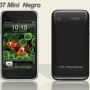 Mini Hiphone Negro, dual Sim simultáneas, cámara 2.0MP, pantalla táctil