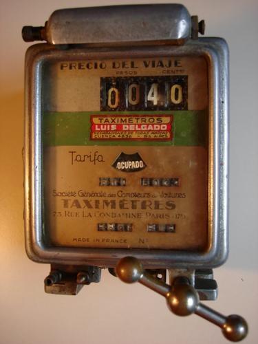 6943931f98fe Vendo relojes de taxi antiguos en Madrid - Joyas