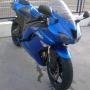 kawa zx6r azul 11/08 4000kms garantía 18meses ampliable