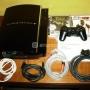 Ps3 60gb+2 juegos+disco duro 320gb version pal espaã'a