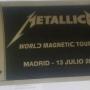 BOLI + 2 ENTRADAS METALLICA 13 JULIO MADRID REGALO