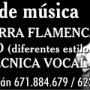 curso de guitarra Sevilla