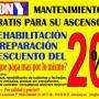 Mantenimiento de ascensores Barcelona GRATIS, KONYes