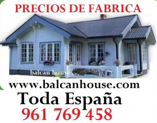 Casas de madera directo fabrica, ofertas
