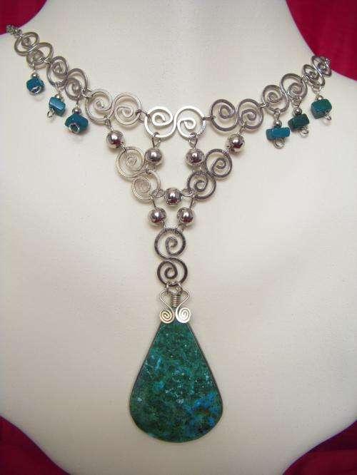a644c4a0173b Joyas peruanas en plata de alpaca con piedras semipreciosas.collares ...
