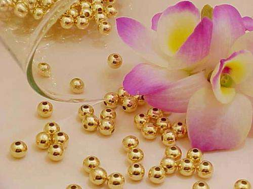 Componentes de oro gold filled 18k para armar joyas/fabrica brazileña.