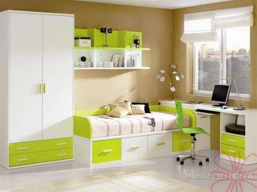 Mobiliario dormitorio juvenil