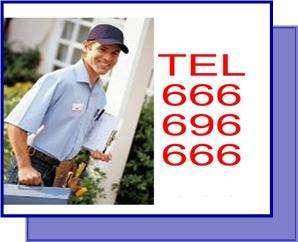 Urgencias barcelona 666 696 666 fontaneros, electricistas y desatascos