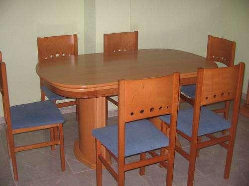 Vendo Mesa Comedor Y Sillas.Vendo Mesa Comedor Con 6 Sillas En Alicante Muebles 181781