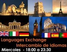 Intercambio ingles, frances, italiano, portugues, español, ..... gratis