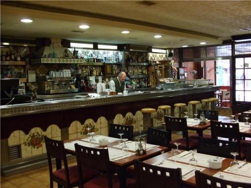 Se traspasa restaurante en barcelona (junto plaza españa).
