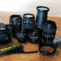 Nikon D300 con 6 lentes Nikon Nikkor