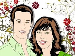 Retratos pop art personalizados en www.cookiepop.es