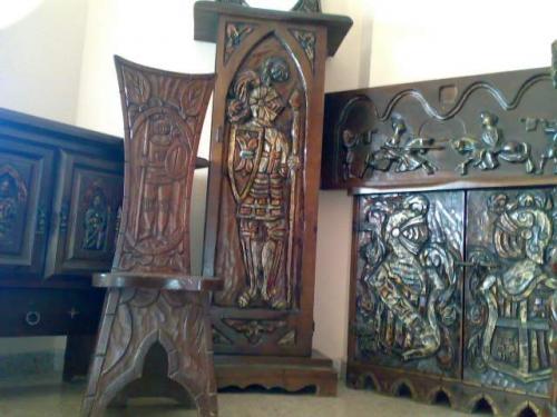Vendo mobiliario representacion conquista rey don jaume i