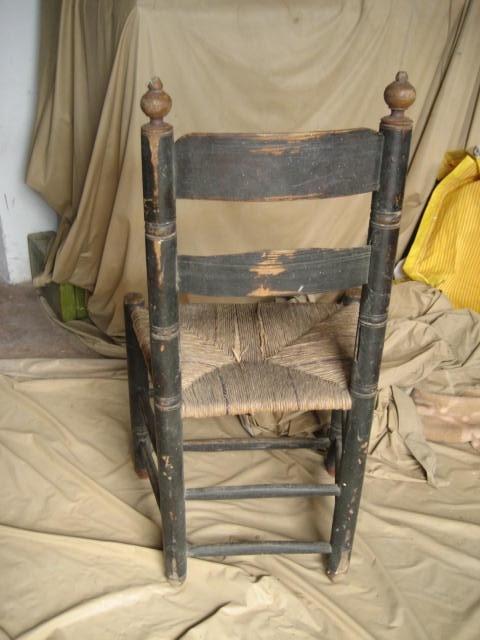 Fotos de Silla antigua para restaurar 3