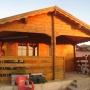 Vendo casa de madera de segunda mano