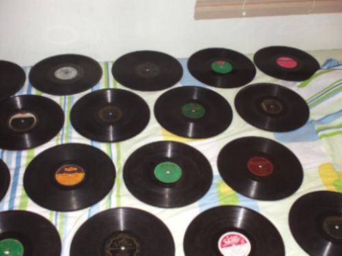 Vendo discos de pizarra 78 rpm