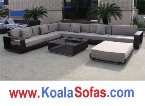 Sofas De Ratan Para Todo Tipo De Jardines Y Exteriores En - Sofas-para-jardines-exteriores