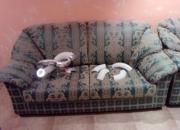 Vendo sofas nuevos a estrenar:2 sillones y un tresillo.totalmente lavables y un tapizado a