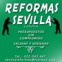 REFORMAS EN SEVILLA Y PROVINCIA