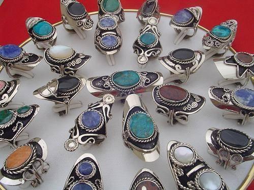 33a39c1ac300 Alpaca chavez - anillos de plata de alpaca- precios por mayor en ...