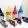 Vendo cartuchos compatibles recargables Epson Canon Brother Hp Etc......