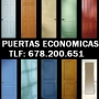 VENTA E INSTALACION DE PUERTAS DE MADERA ECONOMICAS