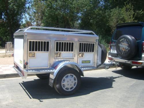Fotos de Remolques termicos para perros en aluminio con suspension,thalman 3