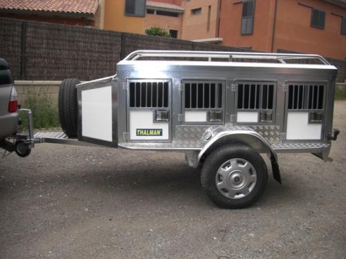 Fotos de Remolques termicos para perros en aluminio con suspension,thalman 4