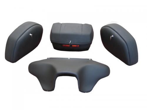 Fotos de Baul maletas y frontal para moto custom 1