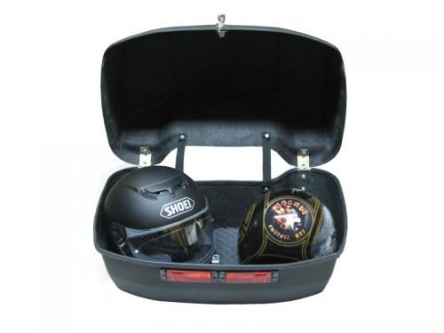 Fotos de Baul maletas y frontal para moto custom 4