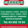 WWW.MUDANZASCARRERA..ES. Mudanzas en Sant Just Desvern, Sant Feliu Llobregat.  936521994.