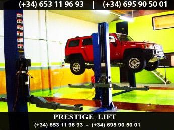 Elevador coches 4000kg nuevos 220v 380v 2 columnas monofasico garantia