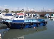 Barco todo de fibra de espesor de 15 mm.