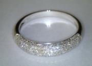Anillo multidiamantes de oro de 18k muy brillantes preciosos!!!!