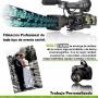Filmación y fotografía profesional de todo tipo de evento social